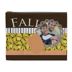 Fall By Joely   Cosmetic Bag (xl)   9ihm8ycslaze   Www Artscow Com Front
