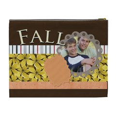 Fall By Joely   Cosmetic Bag (xl)   9ihm8ycslaze   Www Artscow Com Back