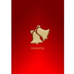Christmas Joy 5x7 Card By Deborah   Greeting Card 5  X 7    9jsymsrgvmqt   Www Artscow Com Back Cover