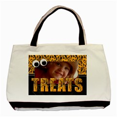 Trick Or Treat/ Halloween  Classic Tote Bag (2 Sides) By Mikki   Basic Tote Bag (two Sides)   19gwmxa4nsn4   Www Artscow Com Front