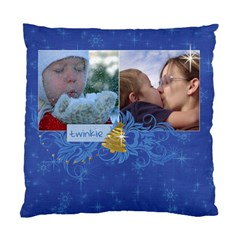 Chrismtas/snow/tree Cushion Case (two Sides) By Mikki   Standard Cushion Case (two Sides)   X124g18e3axm   Www Artscow Com Front