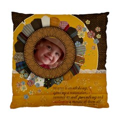 Autumn/quotes Cushion Case (2 Sides) By Mikki   Standard Cushion Case (two Sides)   Vscw5vqqznmf   Www Artscow Com Front