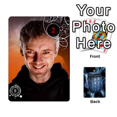 Doctor Who V2 File  By Mark Chaplin   Playing Cards 54 Designs   Prn7tzyrb9r9   Www Artscow Com Front - Heart6