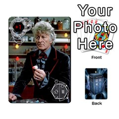 Doctor Who V2 File  By Mark Chaplin   Playing Cards 54 Designs   Prn7tzyrb9r9   Www Artscow Com Front - Spade4