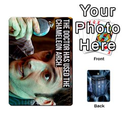 Ace Doctor Who V2 File  By Mark Chaplin   Playing Cards 54 Designs   Prn7tzyrb9r9   Www Artscow Com Front - HeartA