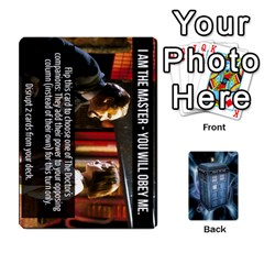 Doctor Who V2 File  By Mark Chaplin   Playing Cards 54 Designs   Prn7tzyrb9r9   Www Artscow Com Front - Diamond2