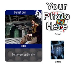 Doctor Who V2 File  By Mark Chaplin   Playing Cards 54 Designs   Prn7tzyrb9r9   Www Artscow Com Front - Club6