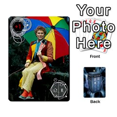 Doctor Who V2 File  By Mark Chaplin   Playing Cards 54 Designs   Prn7tzyrb9r9   Www Artscow Com Front - Spade7
