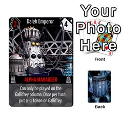Doctor Who V2 File  By Mark Chaplin   Playing Cards 54 Designs   Lowu0r8ravv3   Www Artscow Com Front - Diamond6