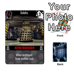Doctor Who V2 File  By Mark Chaplin   Playing Cards 54 Designs   Lowu0r8ravv3   Www Artscow Com Front - Club3