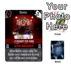Doctor Who V2 File  By Mark Chaplin   Playing Cards 54 Designs   Lowu0r8ravv3   Www Artscow Com Front - Joker2