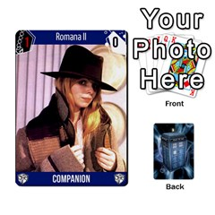 Doctor Who V2 File  By Mark Chaplin   Playing Cards 54 Designs   Fu3d7ytm53dy   Www Artscow Com Front - Heart7