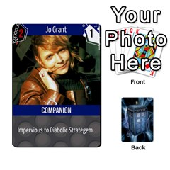 Doctor Who V2 File  By Mark Chaplin   Playing Cards 54 Designs   Fu3d7ytm53dy   Www Artscow Com Front - Heart9