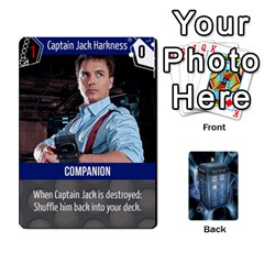Doctor Who V2 File  By Mark Chaplin   Playing Cards 54 Designs   Fu3d7ytm53dy   Www Artscow Com Front - Diamond3