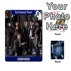 Doctor Who V2 File  By Mark Chaplin   Playing Cards 54 Designs   Fu3d7ytm53dy   Www Artscow Com Front - Club5