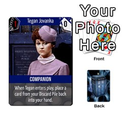 Doctor Who V2 File  By Mark Chaplin   Playing Cards 54 Designs   Fu3d7ytm53dy   Www Artscow Com Front - Club7