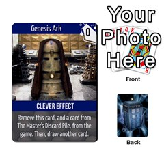 Doctor Who V2 File  By Mark Chaplin   Playing Cards 54 Designs   Vnbces35f24j   Www Artscow Com Front - Heart4
