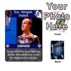Doctor Who V2 File  By Mark Chaplin   Playing Cards 54 Designs   Vnbces35f24j   Www Artscow Com Front - Diamond5