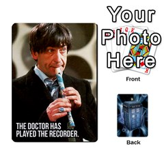 Queen Doctor Who V2 File  By Mark Chaplin   Playing Cards 54 Designs   Vnbces35f24j   Www Artscow Com Front - DiamondQ