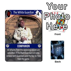 Ace Doctor Who V2 File  By Mark Chaplin   Playing Cards 54 Designs   Vnbces35f24j   Www Artscow Com Front - DiamondA