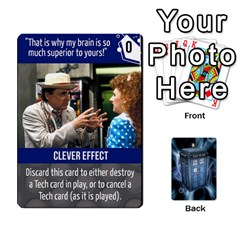 Doctor Who V2 File  By Mark Chaplin   Playing Cards 54 Designs   Vnbces35f24j   Www Artscow Com Front - Spade6