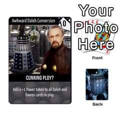 Ace Doctor Who V2 File  By Mark Chaplin   Playing Cards 54 Designs   Vnbces35f24j   Www Artscow Com Front - ClubA