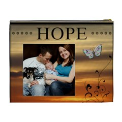 Dream And Hope Xl Cosmetic Bag By Lil    Cosmetic Bag (xl)   L39vuq3w8frc   Www Artscow Com Back
