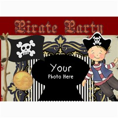 Pirate Party By Lillyskite   5  X 7  Photo Cards   6kwyfhmxazwk   Www Artscow Com 7 x5 Photo Card - 2