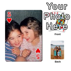 Squyres Cards By Bonnie Benham   Playing Cards 54 Designs   90pdt29uxcpk   Www Artscow Com Front - Heart5