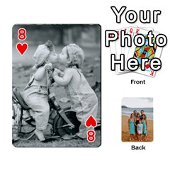 Squyres Cards By Bonnie Benham   Playing Cards 54 Designs   90pdt29uxcpk   Www Artscow Com Front - Heart8