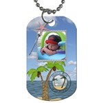 Beach Bum 2-Sided Dog tag - Dog Tag (Two Sides)