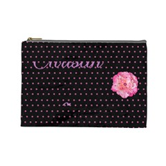 Chrisy By Christina Manship   Cosmetic Bag (large)   2318b7fzvugi   Www Artscow Com Front