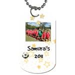 Samurai s dog tag - Dog Tag (One Side)