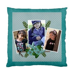 Pillow Case (two Sides)  Blue Love By Jennyl   Standard Cushion Case (two Sides)   G4mgysc72dkf   Www Artscow Com Front