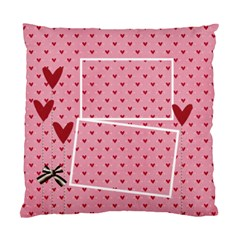 Pillow Case (two Sides)  Love Hearts By Jennyl   Standard Cushion Case (two Sides)   T9dwfavk39yl   Www Artscow Com Front