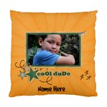 Pillow Case (Two Sides)- Cool Dude - Standard Cushion Case (Two Sides)