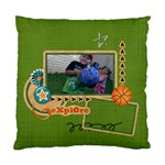 Pillow Case (Two Sides)- Explore - Standard Cushion Case (Two Sides)