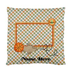Pillow Case (two Sides)  No 1 By Jennyl   Standard Cushion Case (two Sides)   2r4vt7jcnwwf   Www Artscow Com Front