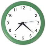 gayil s clock - Color Wall Clock