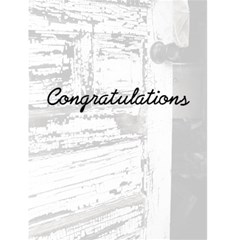 Congratulations By Patricia W   Greeting Card 4 5  X 6    49qm66vg0bb7   Www Artscow Com Front Cover