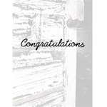 congratulations - Greeting Card 4.5  x 6