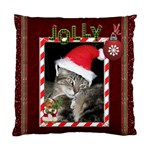 Jolly Christmas Cushion Case (1-Sided) - Standard Cushion Case (One Side)