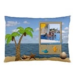 Tropical Vacation 2-Sided Pillow Case - Pillow Case (Two Sides)