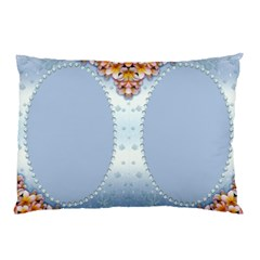 Blue Pearl Framed Pillow Case (2 Sided) By Deborah   Pillow Case (two Sides)   6dfdc0qpnvai   Www Artscow Com Back