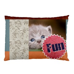 My Pet By Joely   Pillow Case (two Sides)   1h4ecpz1x41q   Www Artscow Com Back