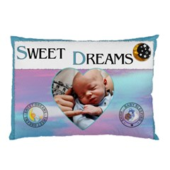 Sweet Dreams 2 Sided Pillow Case By Lil    Pillow Case (two Sides)   Nrfsjc0guzb9   Www Artscow Com Front