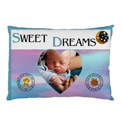 Sweet Dreams 2 Sided Pillow Case By Lil    Pillow Case (two Sides)   Nrfsjc0guzb9   Www Artscow Com Back