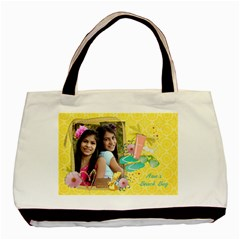 Summer Fun/beach Bag  Classic Tote Bag (2 Sides) By Mikki   Basic Tote Bag (two Sides)   Irfttnt59zay   Www Artscow Com Front