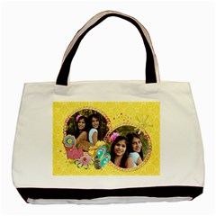 Summer Fun/beach Bag  Classic Tote Bag (2 Sides) By Mikki   Basic Tote Bag (two Sides)   Irfttnt59zay   Www Artscow Com Back