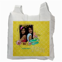 Summer Fun/beach Bag  Recycle Bag (2 Sides) By Mikki   Recycle Bag (two Side)   Avhccnpohk3q   Www Artscow Com Back